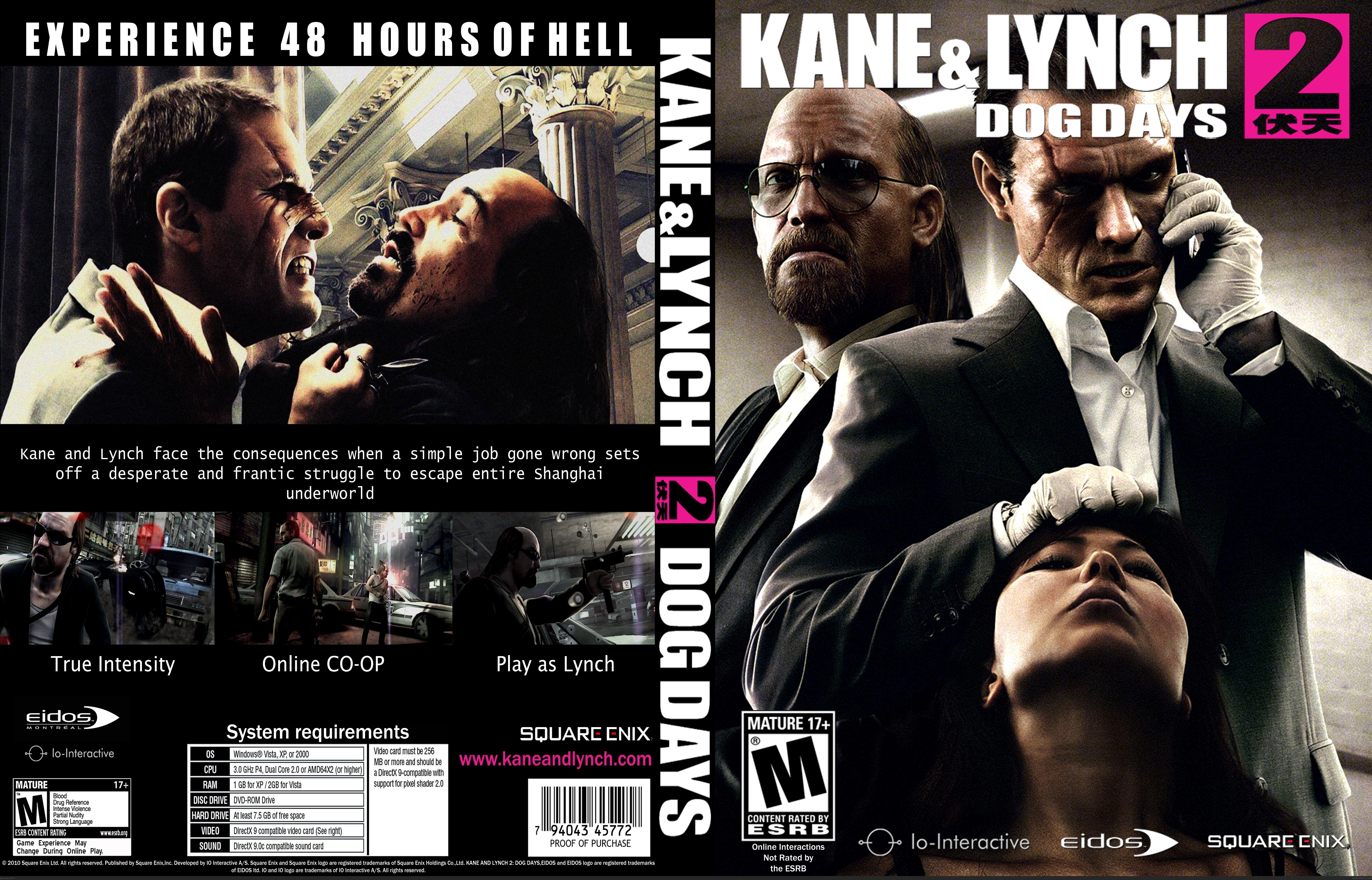 Kane And Lynch  Dog Days Xbox