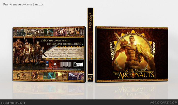 Rise of the Argonauts box art cover