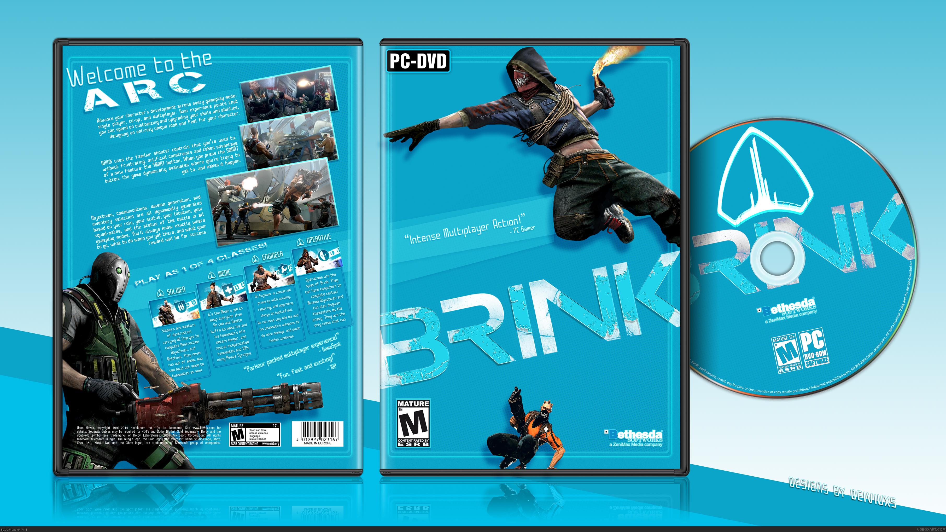 PC » Brink Box Cover