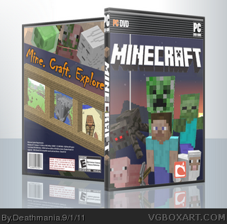 Minecraft box cover