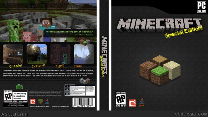 [Ayuda] Caratula de  Minecraft