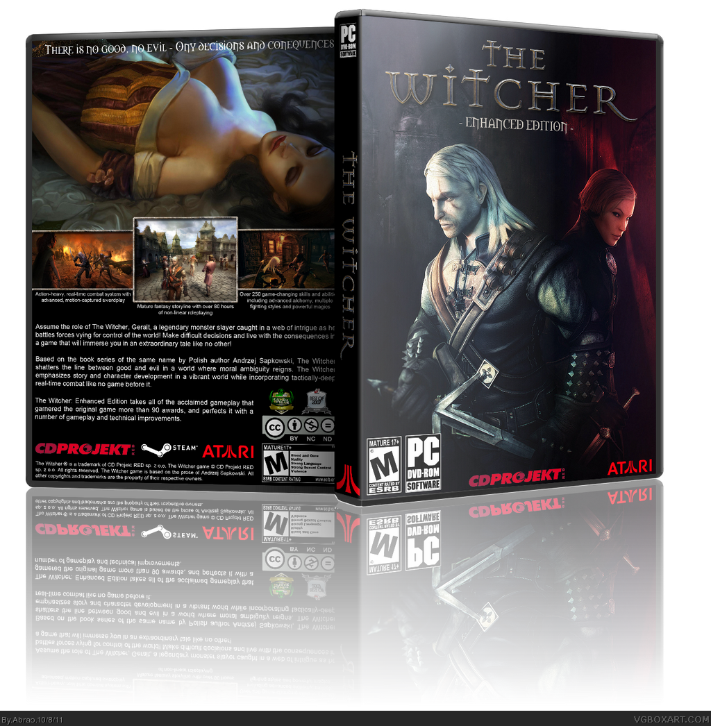 The Witcher Enhanced Edition box cover