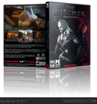 The Witcher Enhanced Edition box art cover