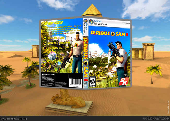 Serious Sam 2 box art cover