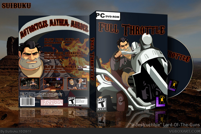 Full Throttle - Game Review (PC) - YouTube