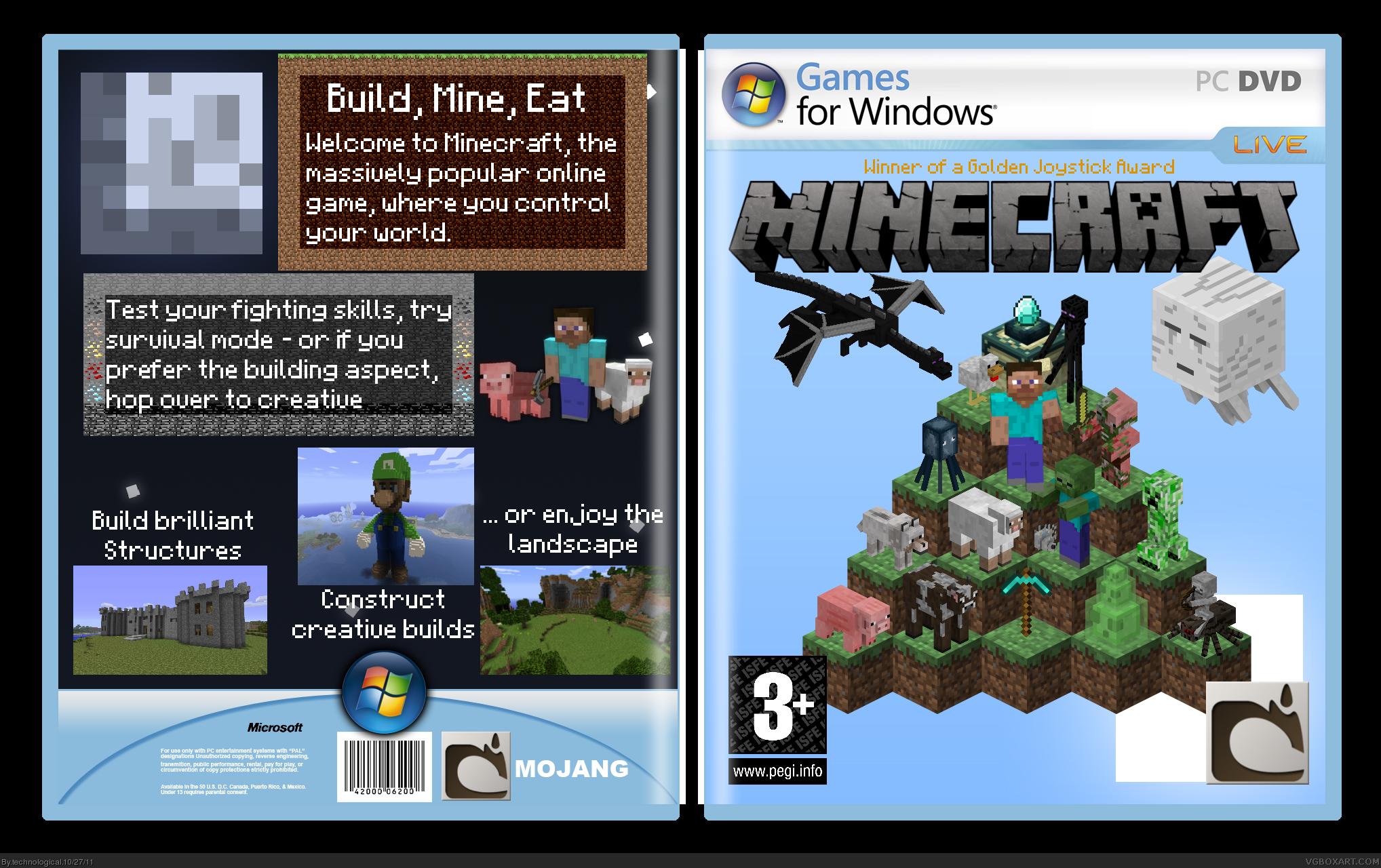 Minecraft Covers for Facebook | fbCoverLover.com