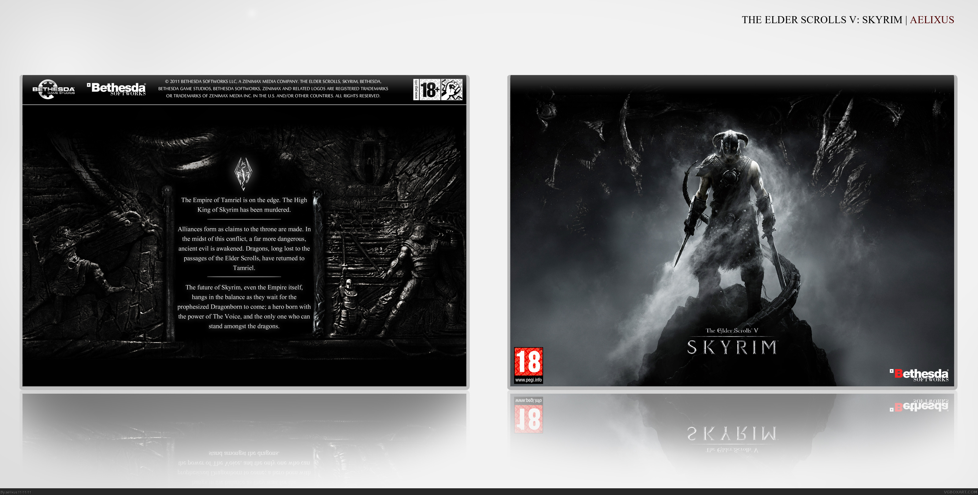The Elder Scrolls V: Skyrim box cover