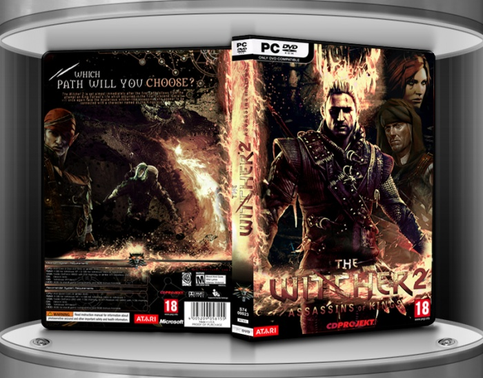 PC » The Witcher 2: Assassins of Kings Box Cover