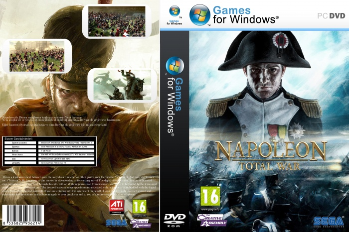 Napoleon Total War box art cover