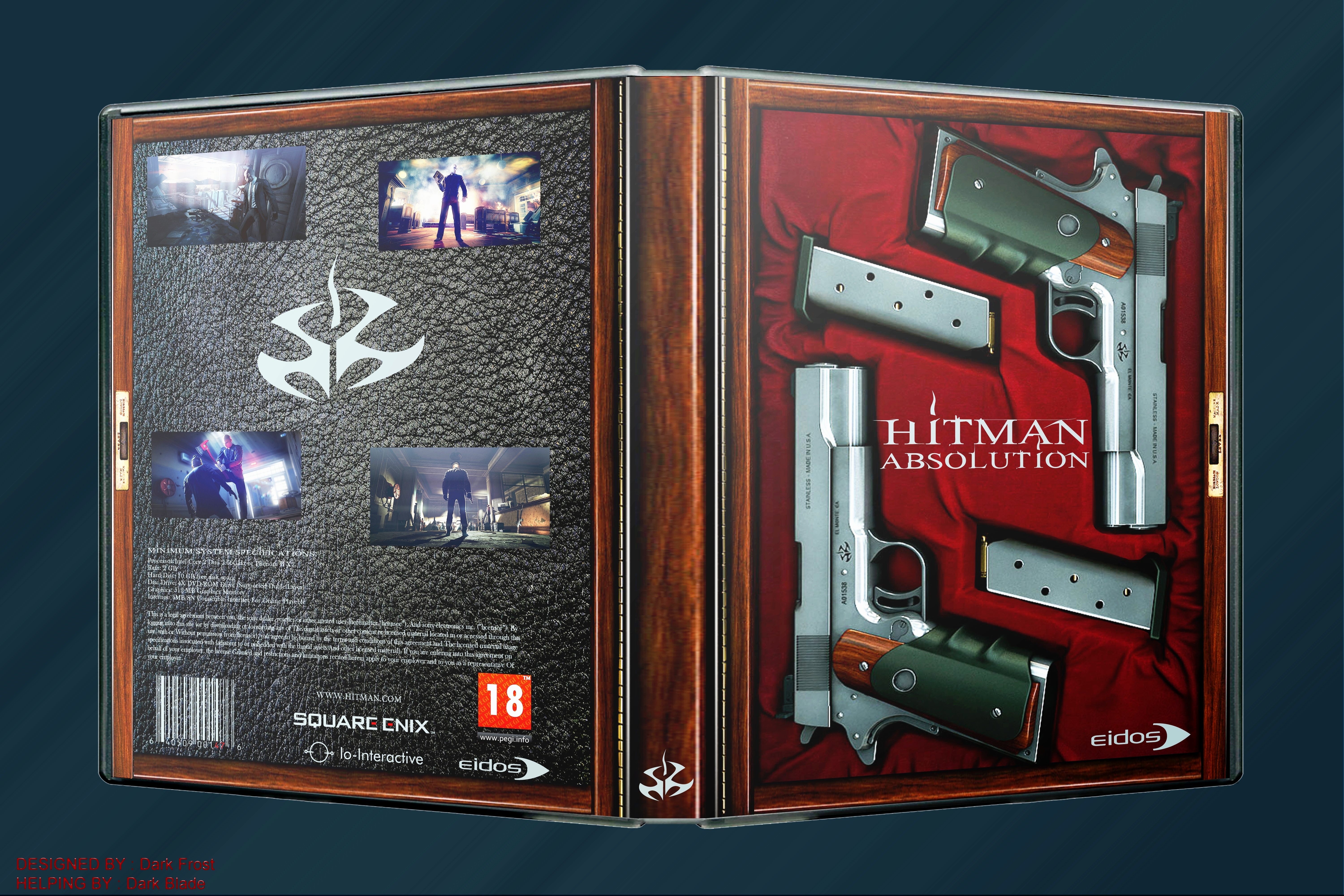 Hitman Absolution Fuse Box : Hitman absolution pc box art cover by dark frost