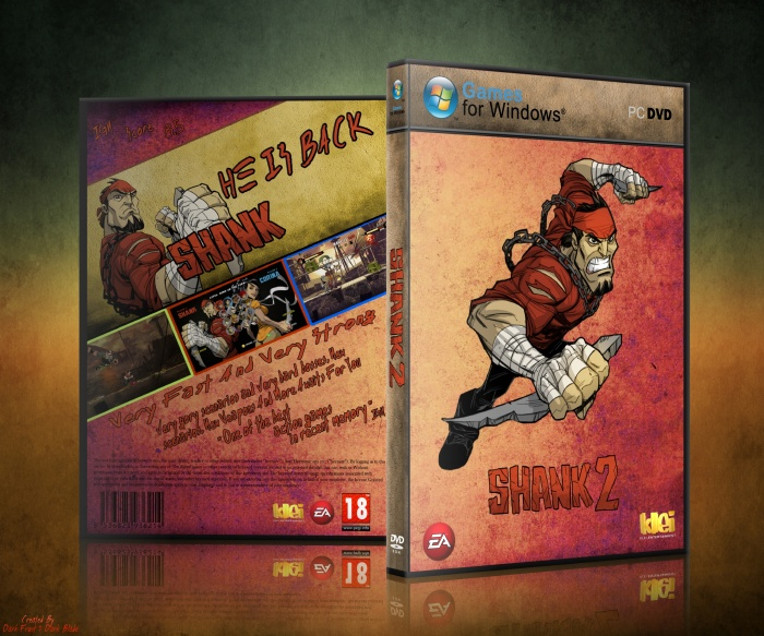 Shank 2 box art cover