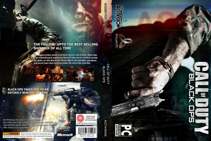 of black Call cover duty ops
