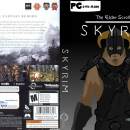The Elder Scrolls V: Skyrim Cartoon Box Art Cover