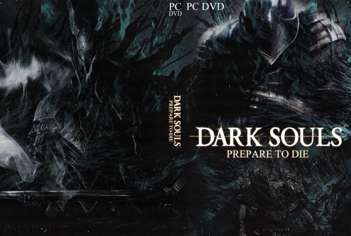 dark souls pc box art cover by electricdynamite