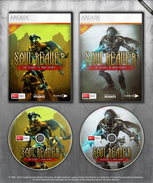 PC » Legacy Of Kain : Soul Reaver Box Cover
