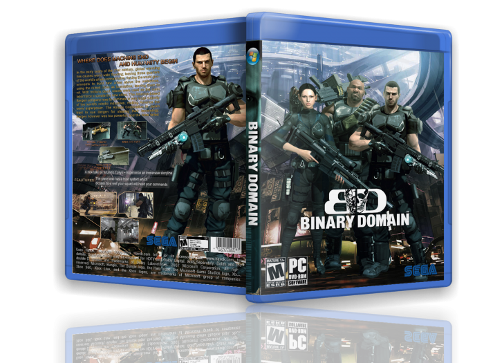 Binary Domain box art cover