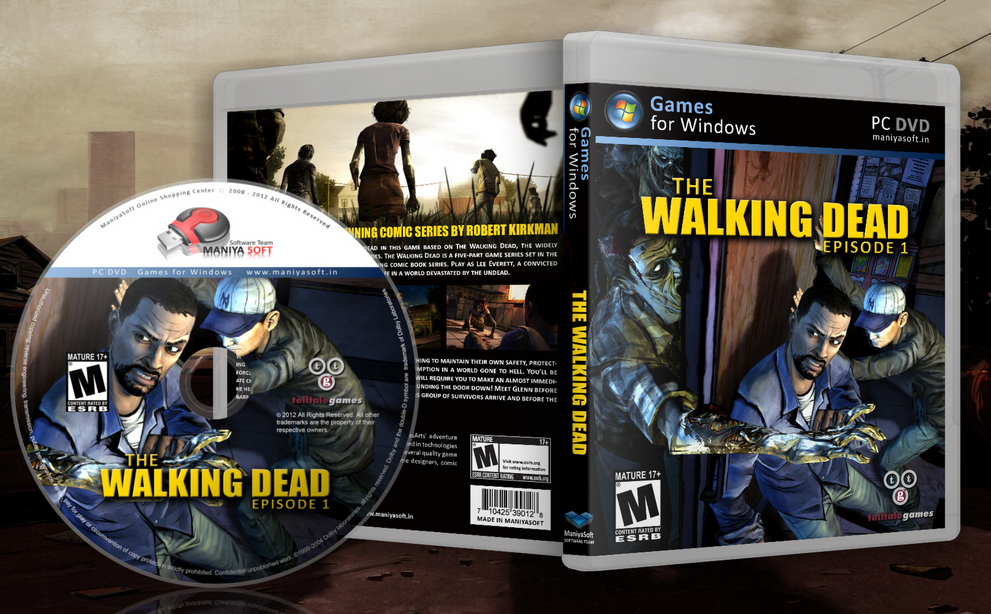 The Walking Dead box cover