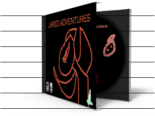 Jared Adventures box cover