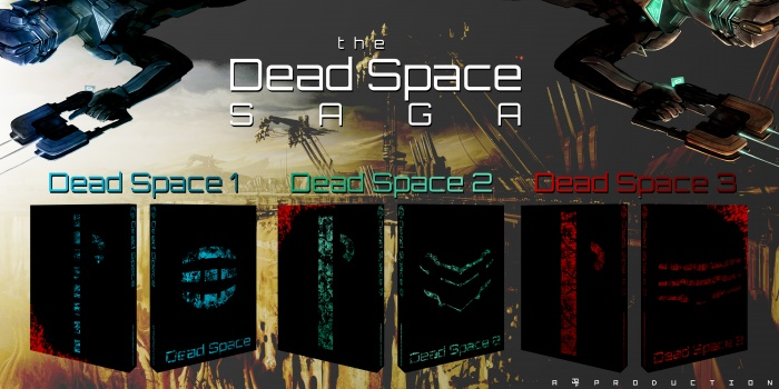Dead Space Saga box art cover