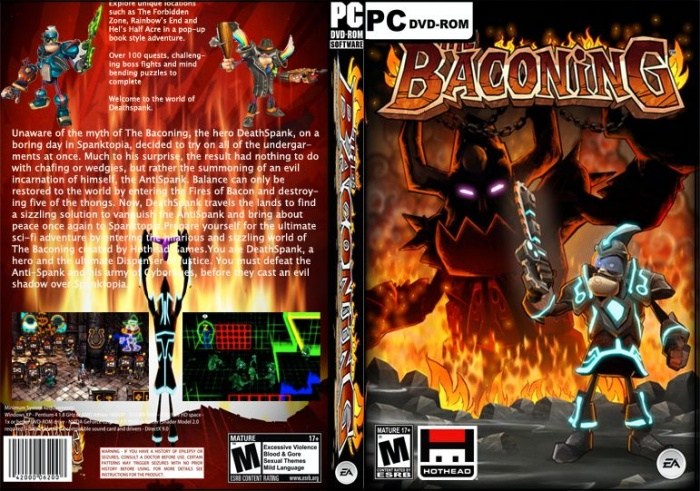 the baconing box art cover