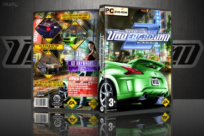need for speed underground 2 xbox cover