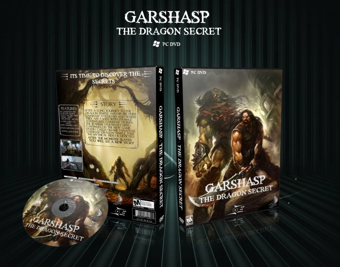 Garshasp : The Dragon Secret box art cover