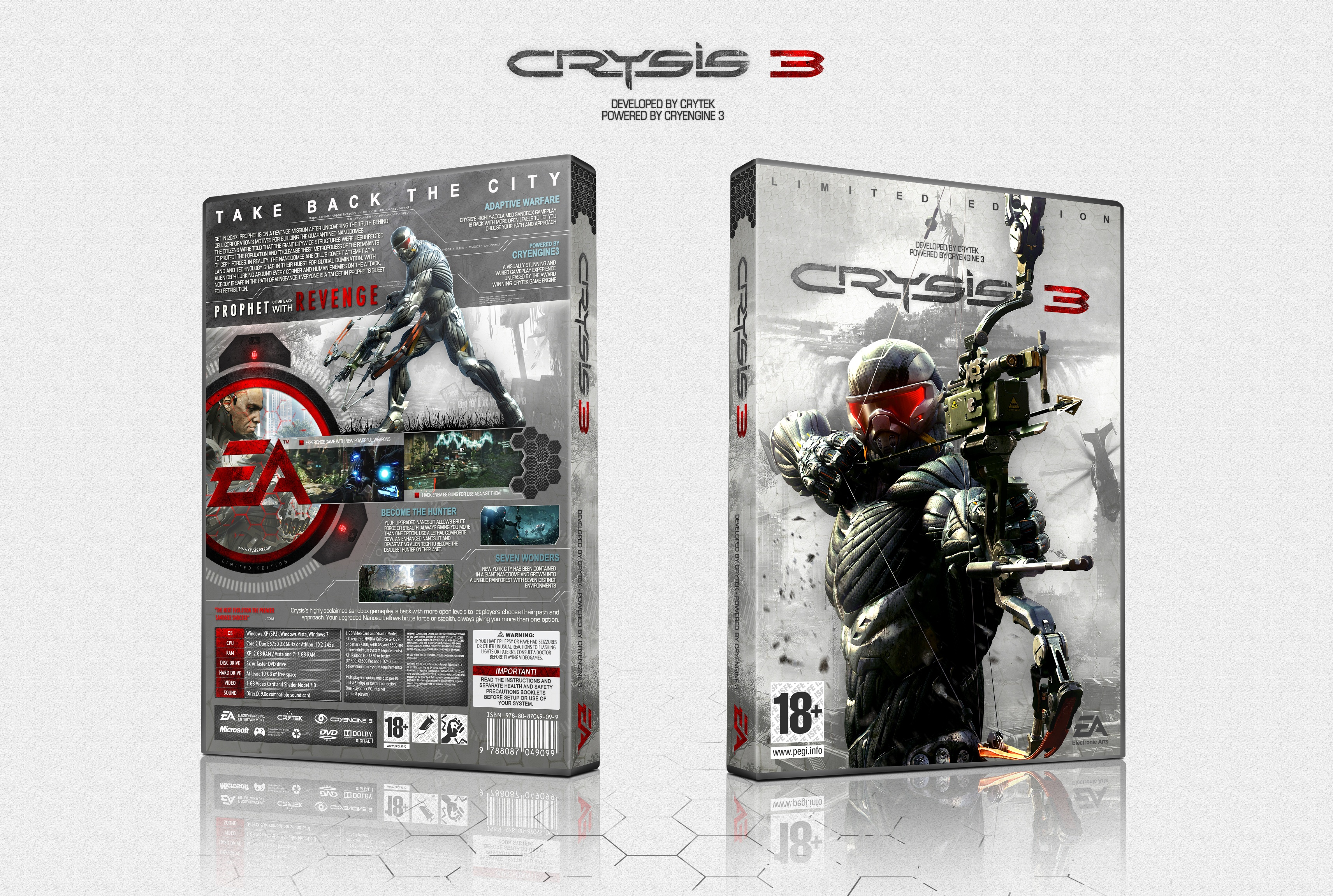 Crysis 3 Limited Edition box cover