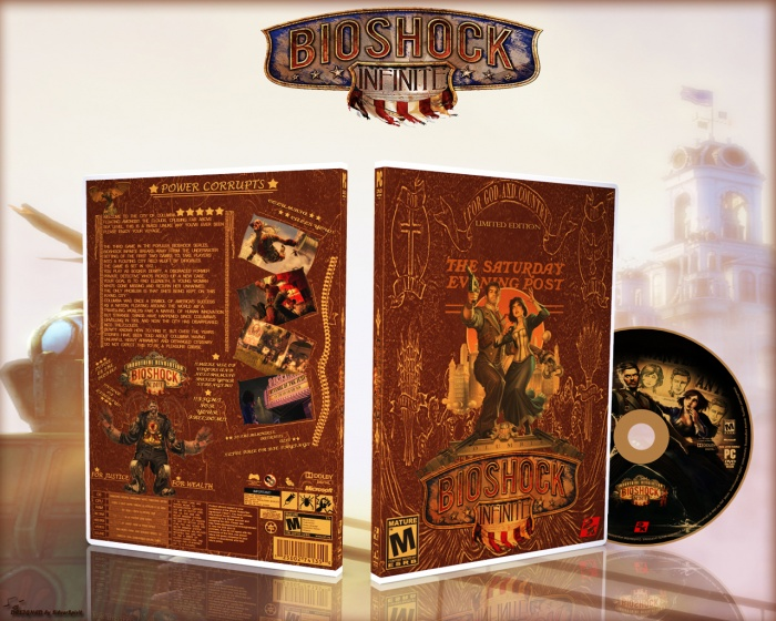 BioShock Infinite Limited Edition box art cover