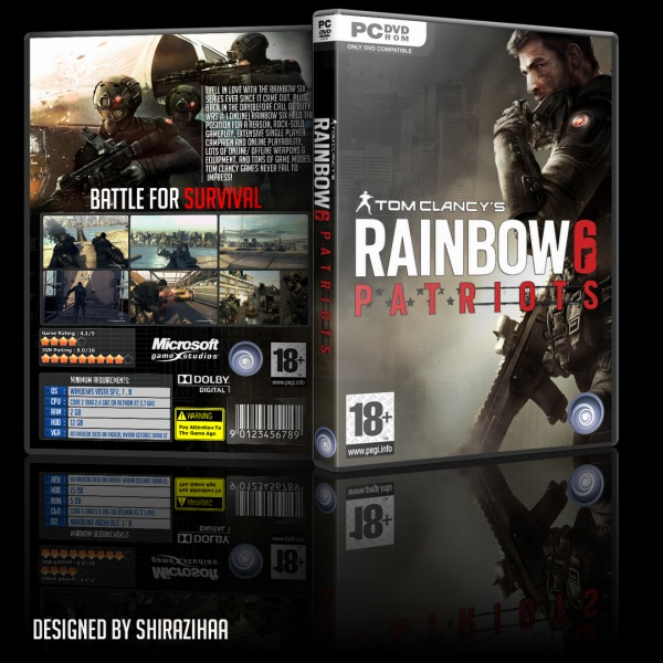 rainbow six game list