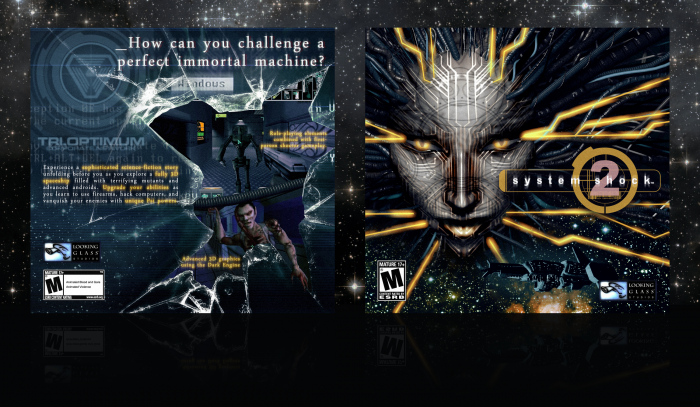 System Shock 2 box art cover