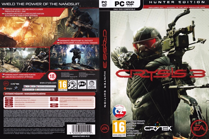Crysis 3 Pc Box Art Cover By Rezaa13