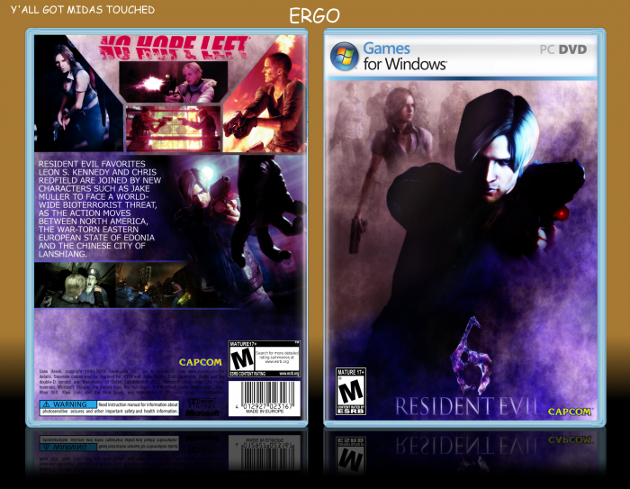 Free Download Game Resident Evil 6 Full Version