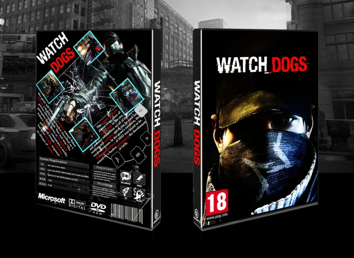 Watch Dogs PC Box Art Cover by benyaminj  Watch