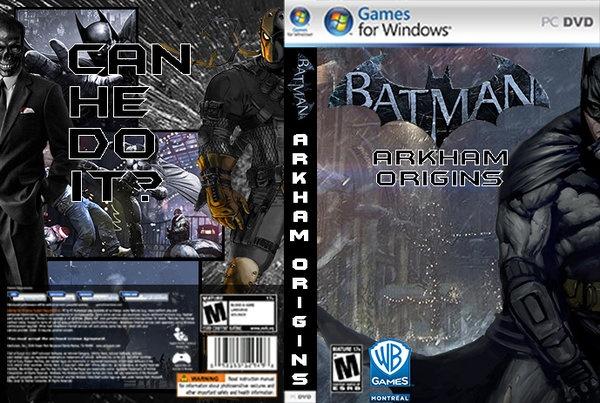 Batman Arkham Origins Cover BatmanArkham Origins box