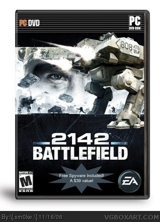 Battlefield 2142 box cover