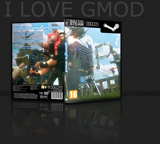 Garry's Mod (GMOD) box art cover