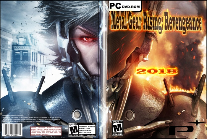 METAL GEAR RISING : Revengeance box art cover