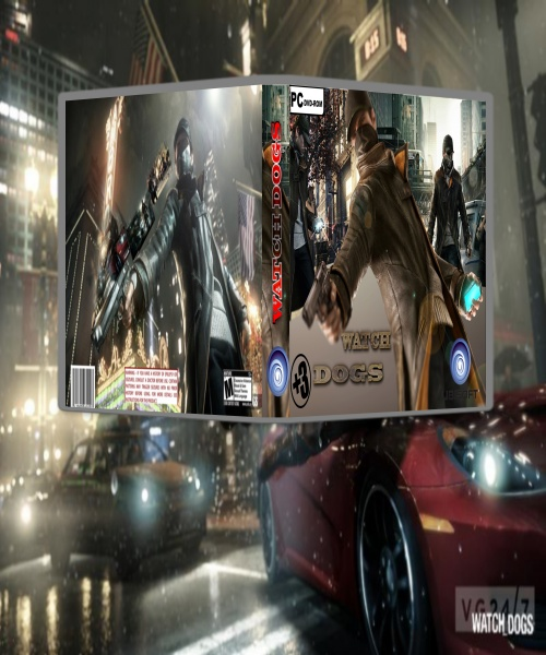 WATCH DOGS= box art cover