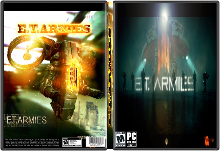 E.T.ARMIES box art cover