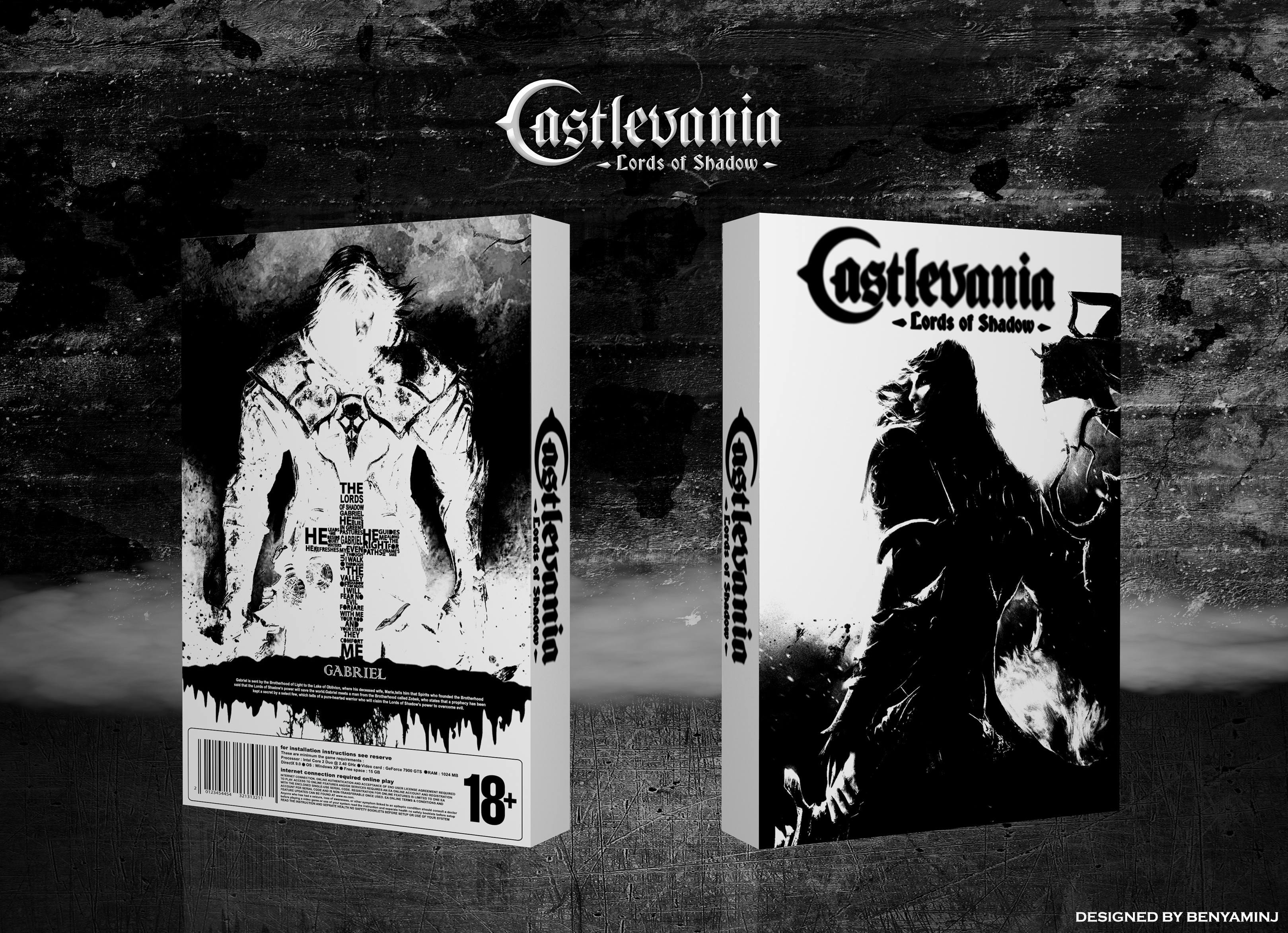Castlevania: Lords of Shadow box cover