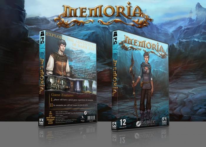 Memoria box art cover