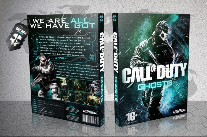 Call of Duty Ghosts box art cover