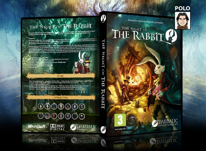 The Night Of The Rabbit box art cover
