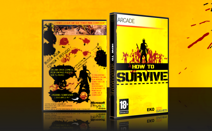 Раздача How To Survive.