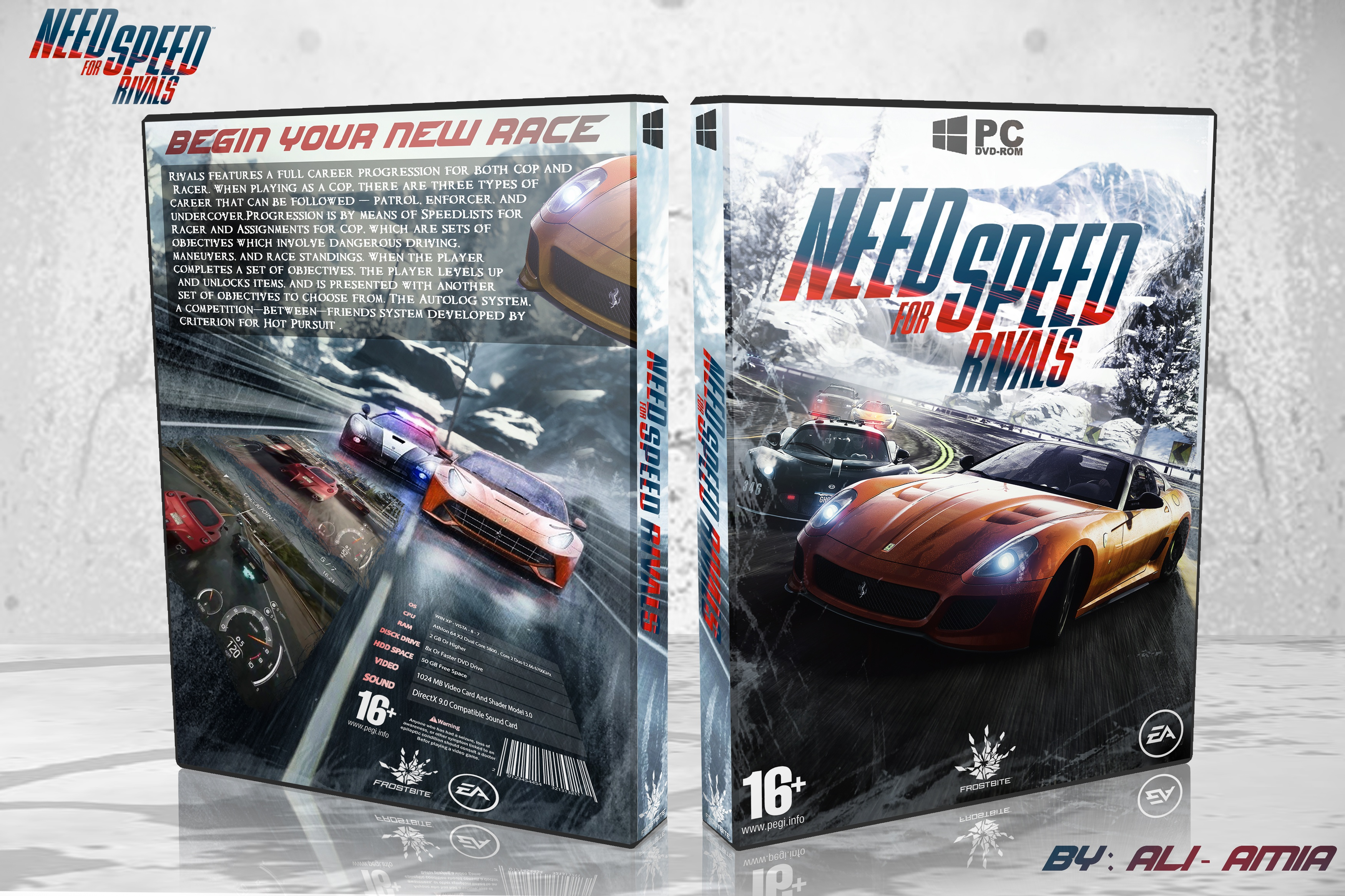 Need For Speed Rivals box cover