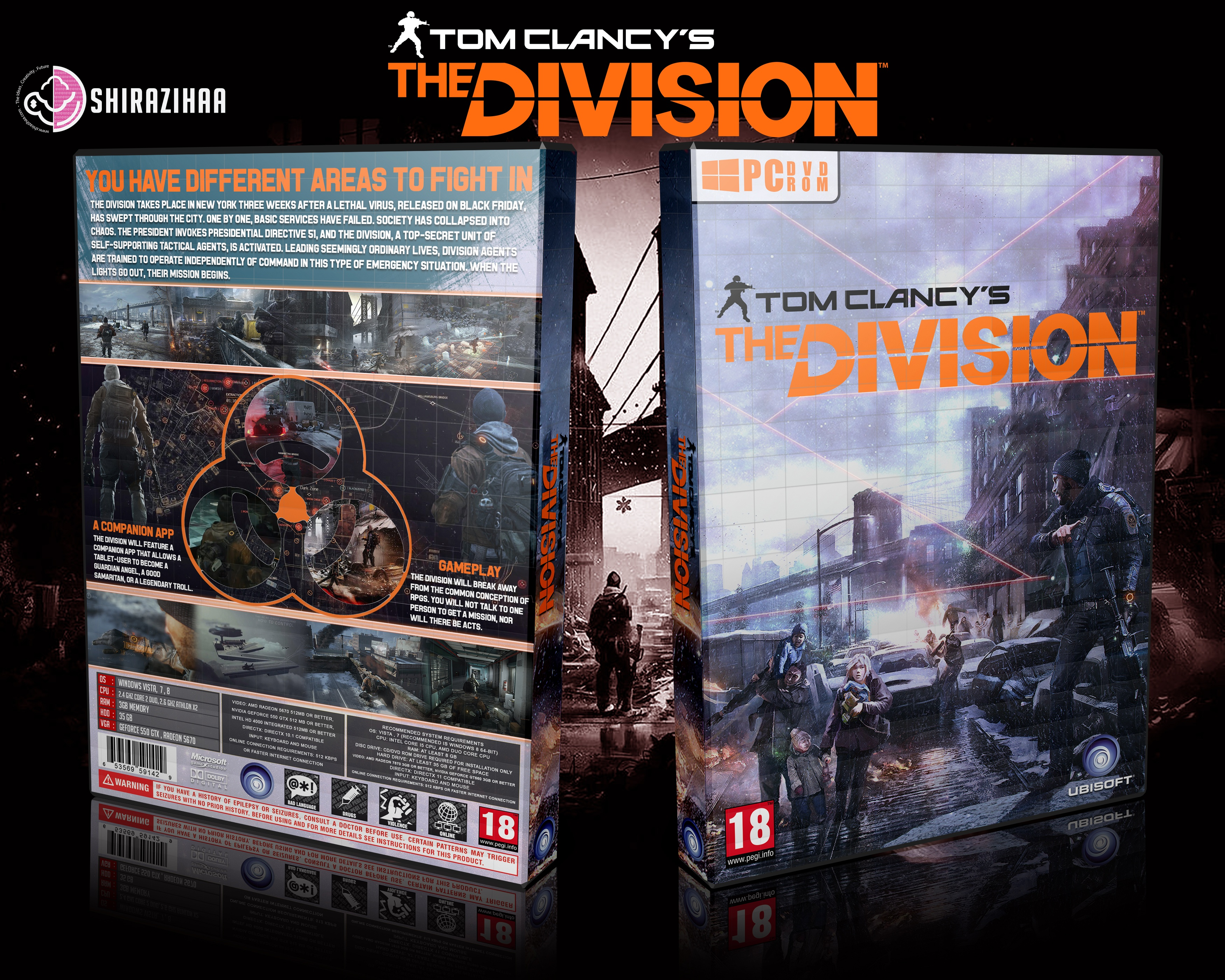 Tom Clancy's The Division box cover