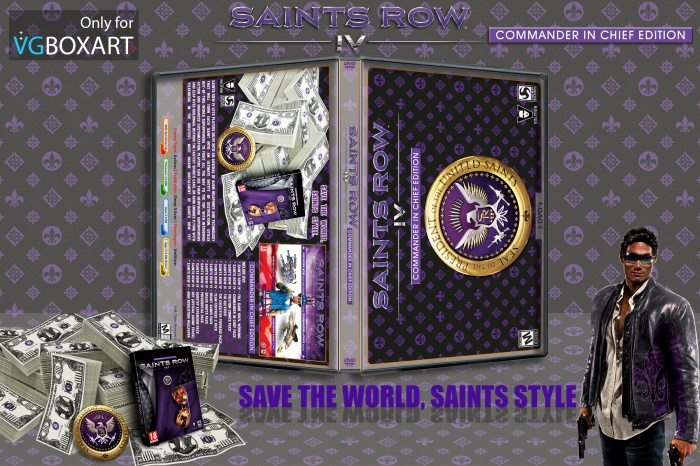 Saints Row IV Commander IN Chief Edition box art cover