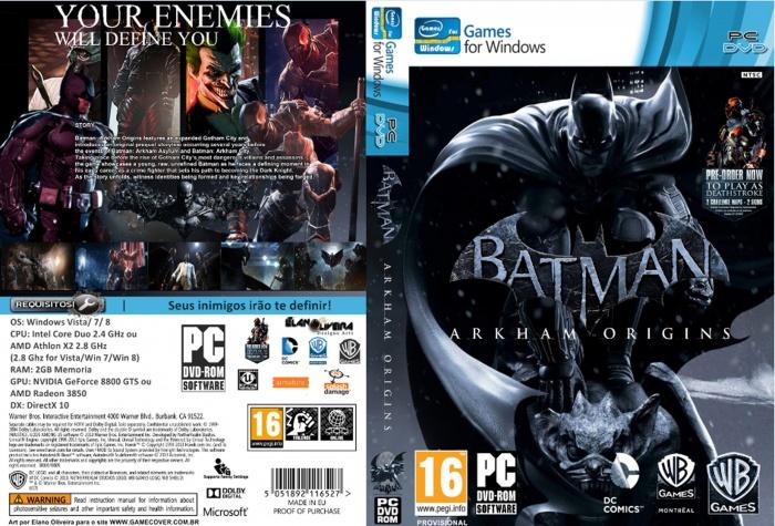 скачать игру Batman Arkham Origins через торрент на Pc на русском - фото 6