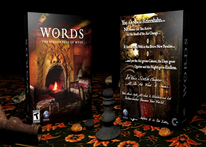Myst VI: Words box art cover