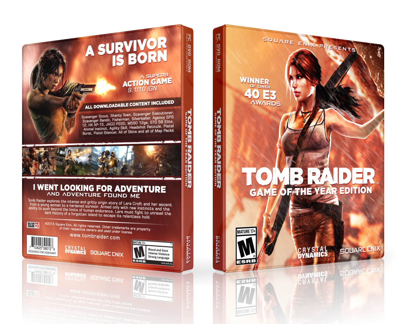 Tomb Raider: GOTY box cover